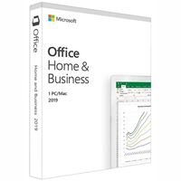 Microsoft T5D-03251 Office Home & Business 2019, Medialess, Retail Box