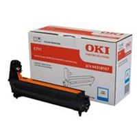 OKI 44318511 EP Cartridge (Drum) For C711n Cyan; 20,000 Pages