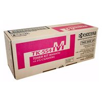 Kyocera TK-554M Magenta Toner Cartridge for FS-C5200DN (6,000 Yield)
