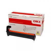 OKI 46484109 Yellow Image Drum For C532dn/MC573dn; 30,000 Pages @ 3 page per job