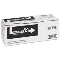 Kyocera TK-5164K Black Toner Kit (Yield: 16,000 pages @ ISO 19798)