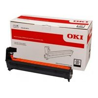 OKI 46507312 Black EP Cartridge (Drum) For C612; 30,000 Pages Average